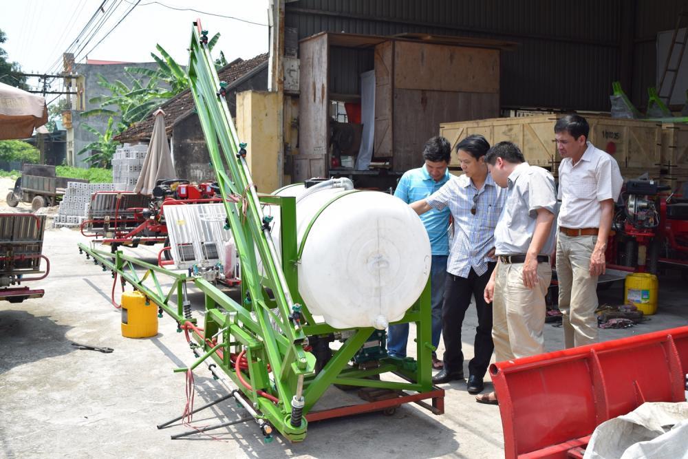 Hướng dẫn trình tự kiểm tra đối với máy nông nghiệp nhập khẩu vào Việt Nam