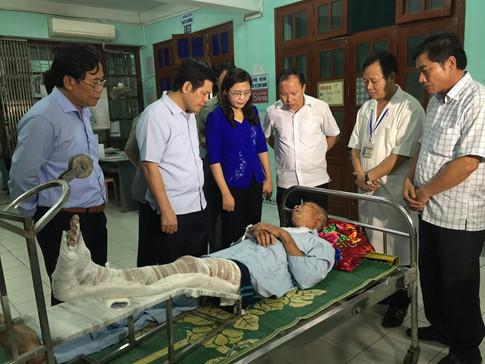 Nổ nồi hơi tại Thái Bình, 4 người chết, 11 người bị thương