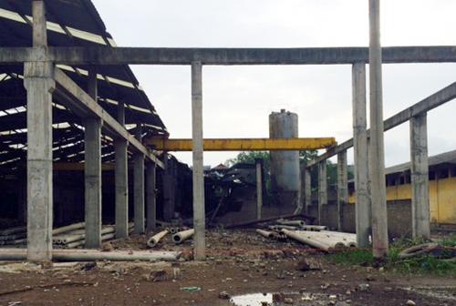 Nổ lò hơi ở Thái Nguyên khiến 2 người chết